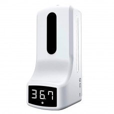 Автоматично санітайзер-термометр Mediclin К9 білий